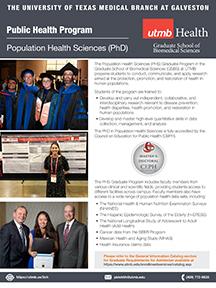 GSBS PHS program flyer